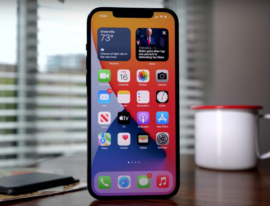 iPhone and iPad iOS 15
